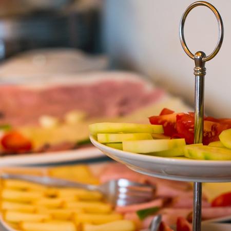 Snídaně formou švédských stolů – Wellness Penzion Agáta.