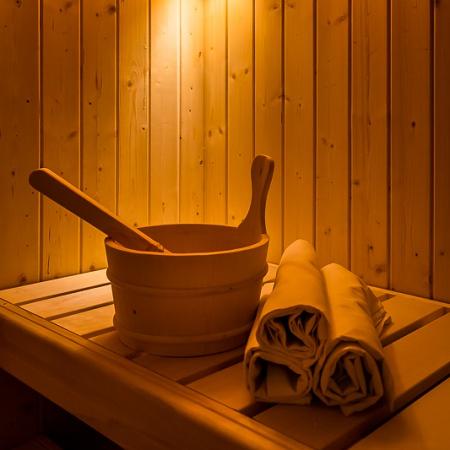 Sauna – Wellness Penzion Agáta.